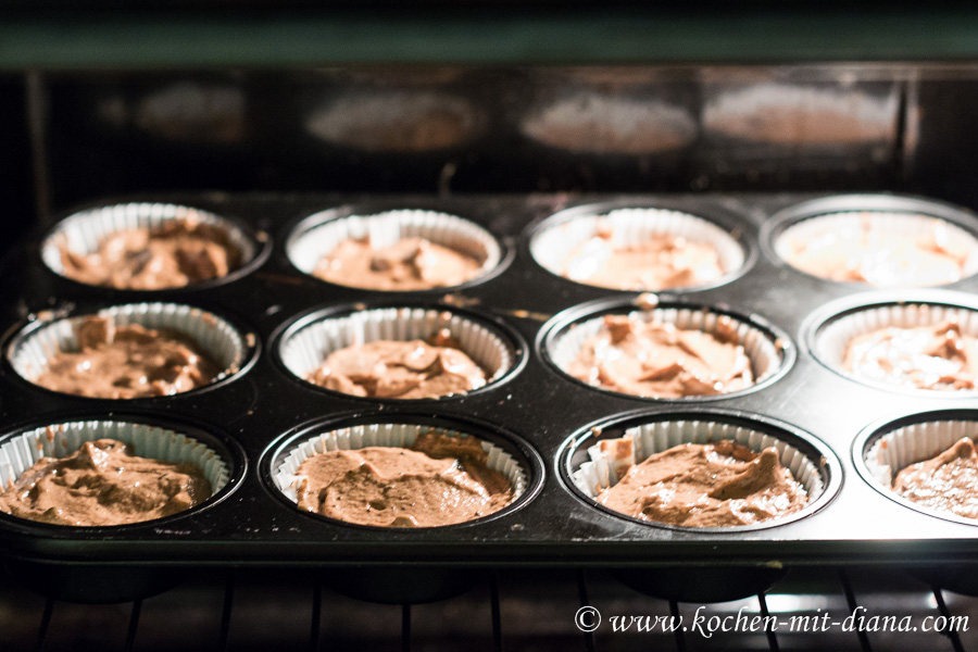 Oreo Cupcakes vor dem Backen