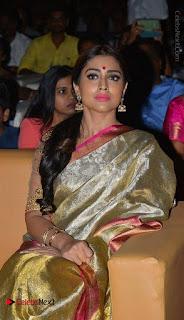 Actress Shriya Saran New Images in Silk Saree at Gautamiputra Satakarni Audio Launch  0024.jpg