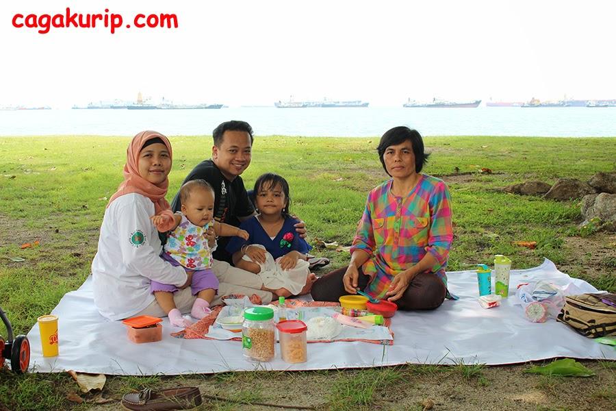 Piknik Murah Meriah Di East Coast, Singapore (6/6)