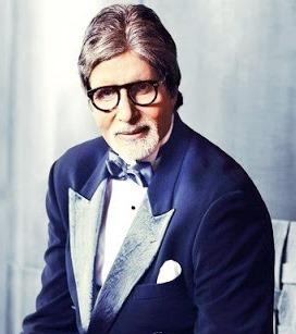 Foto de Amitabh Bachchan con lentes y terno