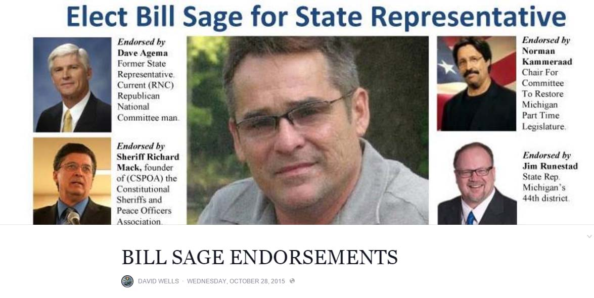 Setting The Record Straight: Hold That Endorsement - State ...