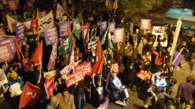 Miles de palestinos condenan la ocupación israelí