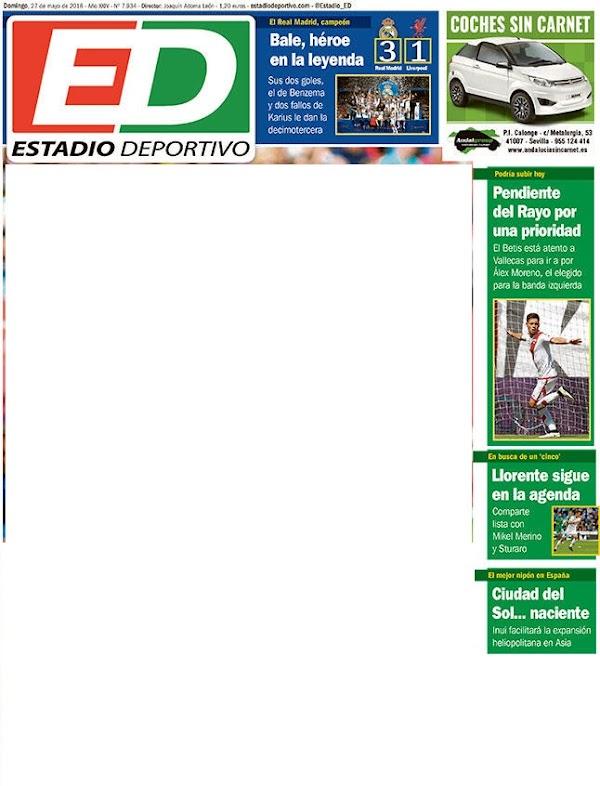 """Betis, Estadio Deportivo: """"Llorente sigue en la agenda"""""""