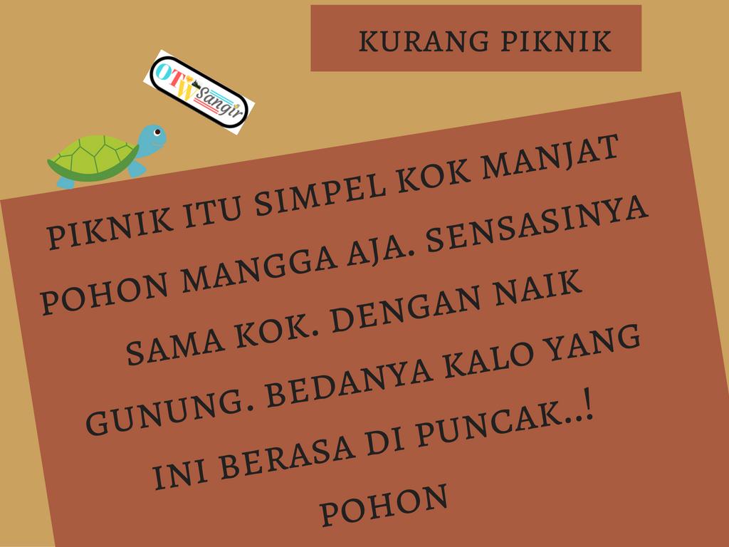 Download Caption Lucu Tentang Piknik