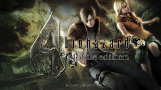Resident Evil 4 Mobile Edition APK Data