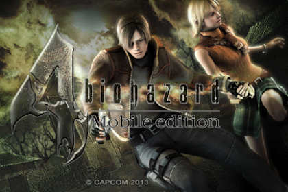 Resident Evil 4 Mobile Edition APK Data Terbaru 2019