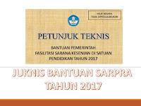 Juknis Bantuan Sarpra Kesenian SD SMP SMA SMK Tahun 2017