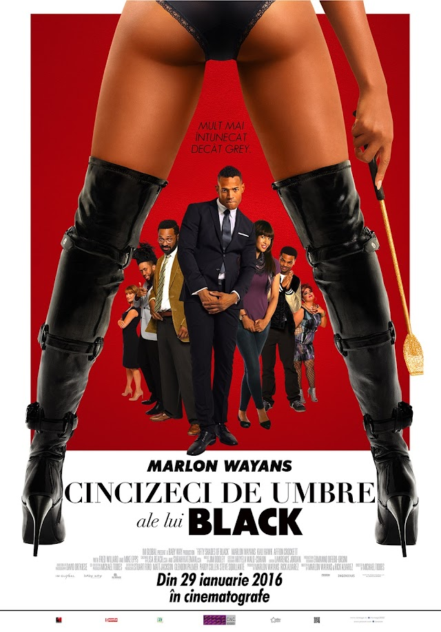 Fifty Shades of Black (Film 2016) - Cincizeci de umbre ale lui Black