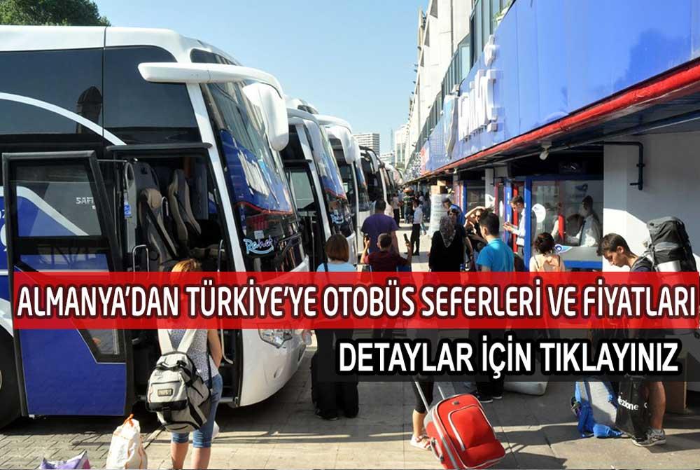 Almanya'dan İstanbul'a Otobüs Seferleri