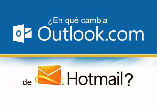 El paso de Hotmail a Outlook