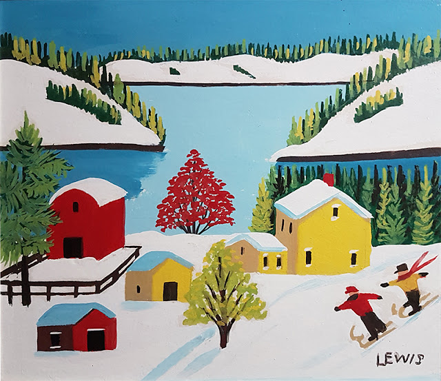 Art by Maud Lewis