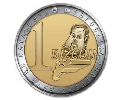 Bizcoin , bitcoin , Oriol Junqueras, Catalunya, moneda