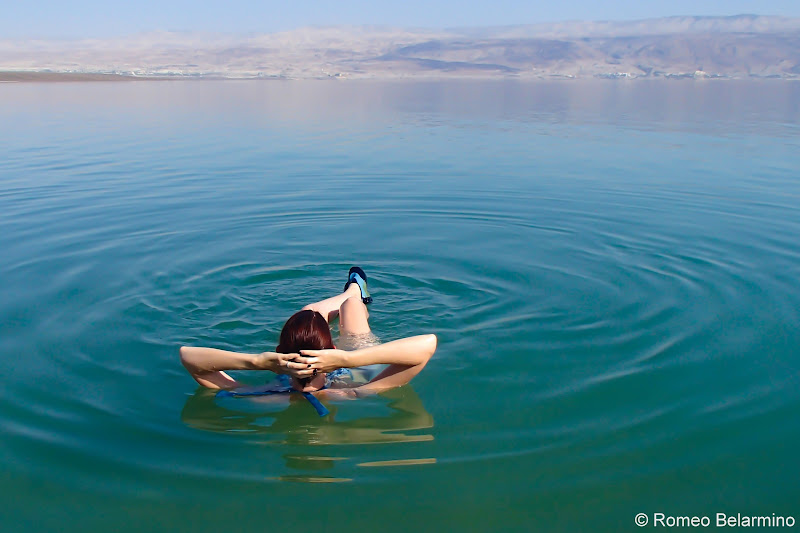 Laid Back Floating in the Dead Sea and Tips Israel
