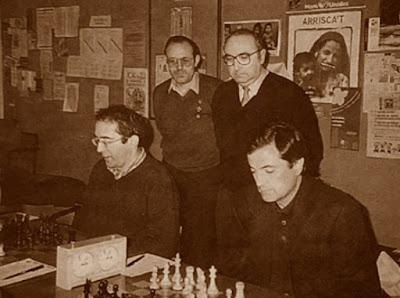 Equipo de Club d'Escacs Sabadell en 1999