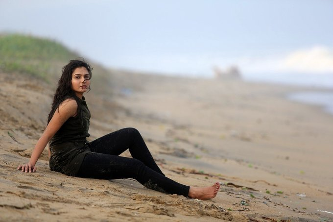 Andrea Jeremiah Hot Photos From Taramani Tamil Movie