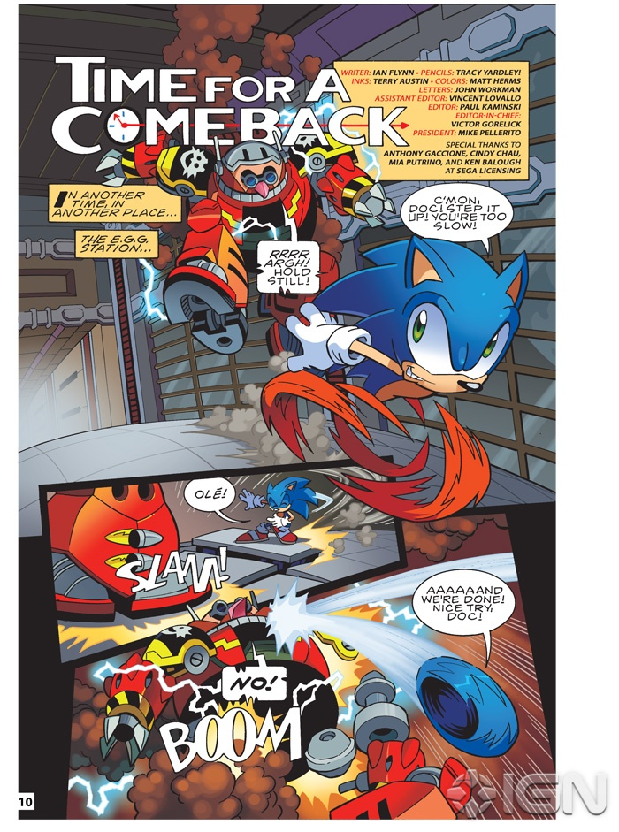 matt herms  comic art and illustration  sonic super special 03