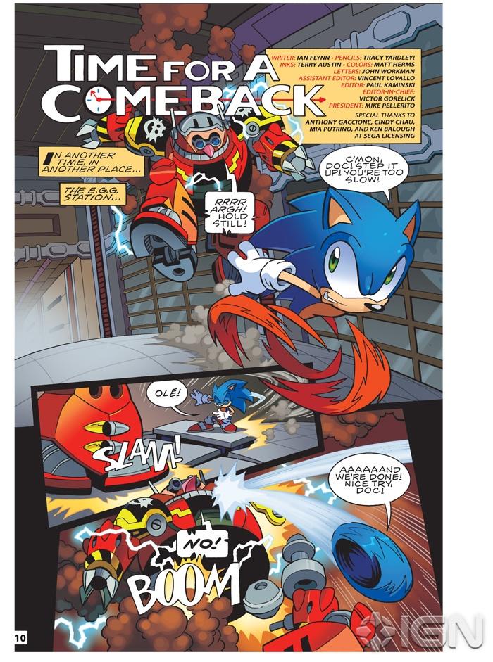 Matt Herms Comic Art And Illustration Sonic Super Special 03