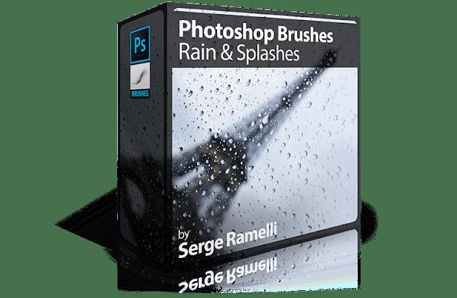Photoshop Brushes: Rain & Splashes