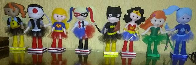 boneca super heroína