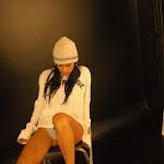 Andrea Rincon, Selena Spice Galeria 19: Buso Blanco y Jean Negro, Estilo Rapero Foto 78