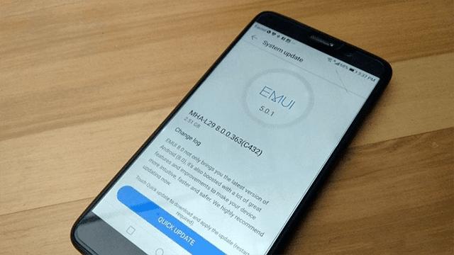 رسمياََ تحديث Android Oreo 8.0 على هواتف هواوي القديمة !