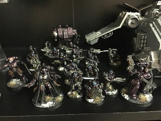 Raven Guard Succussor 40k 8th edition force