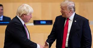 Trump hails Boris Johnson