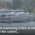 Thousands race in Bosphorus cross-continental swim