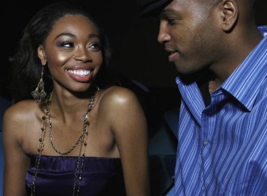 Ebony flirt
