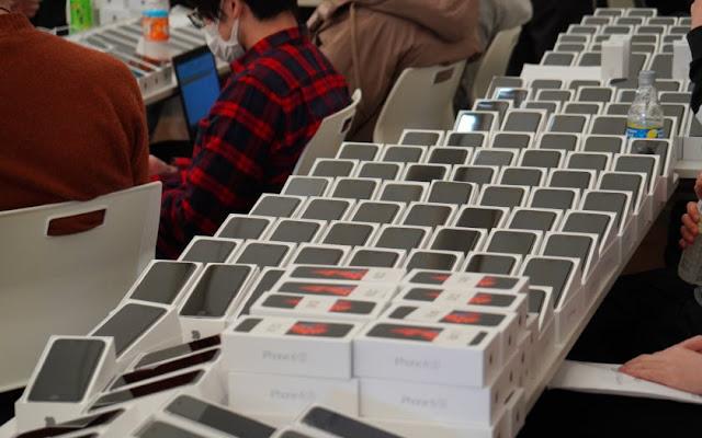 Japonya, koronavirüs bulaşmış bir teknede yolculara 2000 iPhone gönderdi