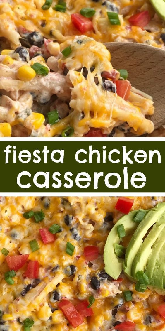Surprising Fiesta Chicken Casserole Ther Es A Food Onthecornerstone Fun Painted Chair Ideas Images Onthecornerstoneorg