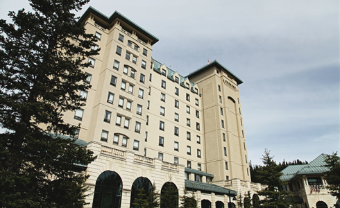 Chateau Lake Louise Hotel Banff Alberta