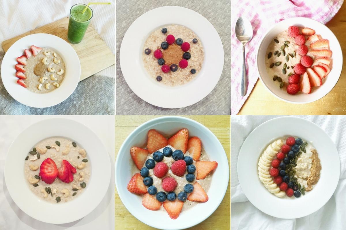 Bowls of porridge