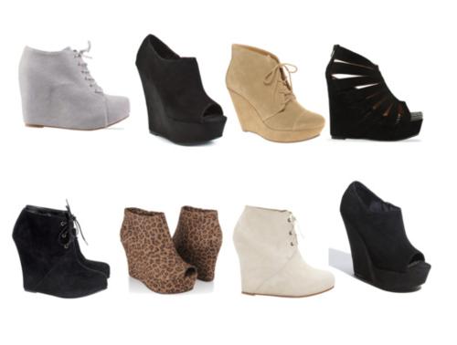 Resultado de imagem para sapatos wedge