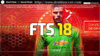FTS 18 Mod by Yulliespasha Apk + Data Obb