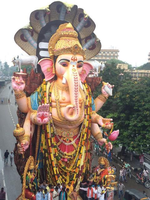 Khairatabad Ganesh nimajjanam photos 2016