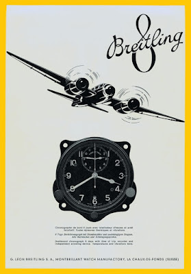 Breitling Super 8 Original advertisement