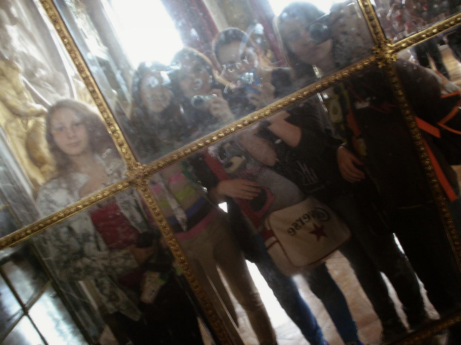 V zámku Versailles