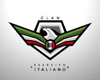 esercito italiano clan logo(blue2x) squad mobile legend logo