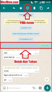 grup wa,informasi pesan wa,pesan di grup whatsapp,pembaca poesan di grup whatsapp,yang membaca pesan kita