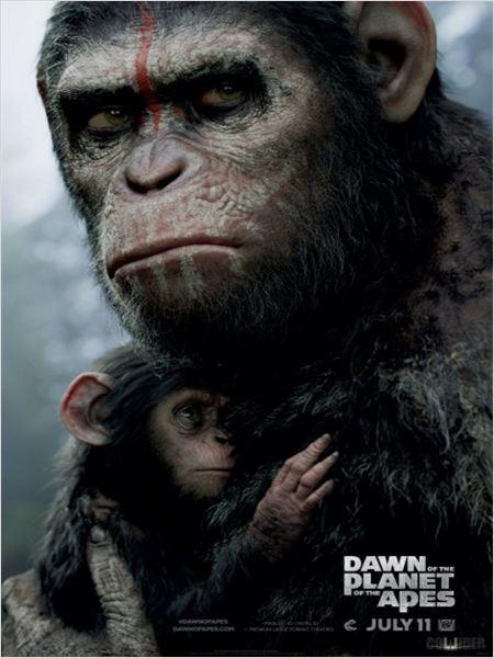 Maymunlar Cehennemi Şafak Vakti afiş