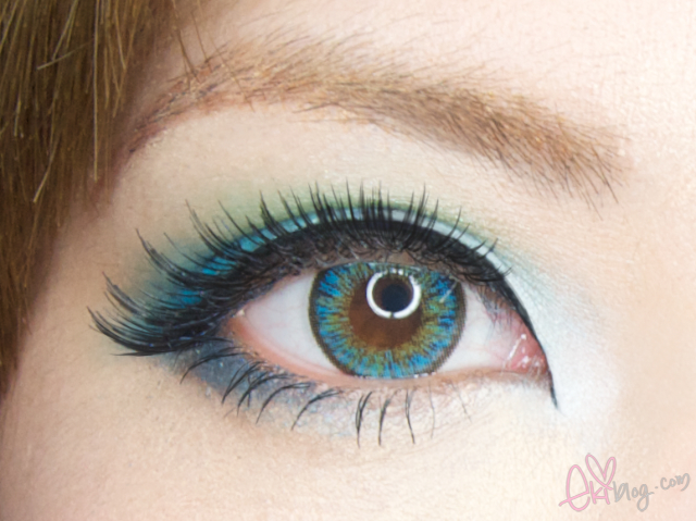 Ekiblog Com Neo Shimmer In Aqua Lens Review