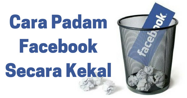 Cara Delete Facebook