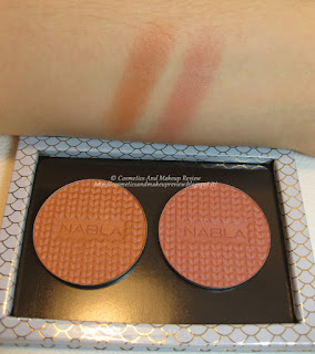 Mermaid Collection - Blossom Blush Coralia (sx) e Kendra (dx) - swatches