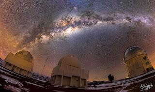Les Yeux des Astronomes [Panorama]