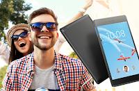 Program poleceń karty kredytowej Citibanku z tabletem Lenovo