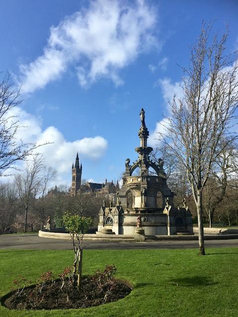 Glasgow University & Kelvingrove Park, Scotland