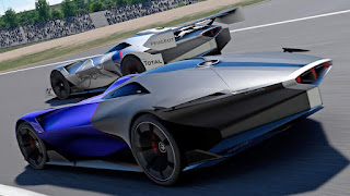 Peugeot L750 Hybrid Vision Gran Turismo super concept vehicle