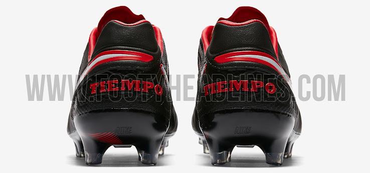reputable site f3bce 05135 Stunning Black / Red Nike Tiempo Legend VI 2017 Boots ...