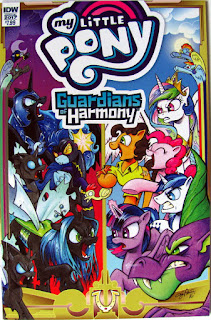 MLP Guardians of Harmony comic, main cover by Andy Price